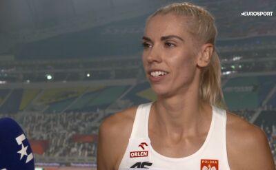 Baumgart-Witan po eliminacjach do biegu na 400 m