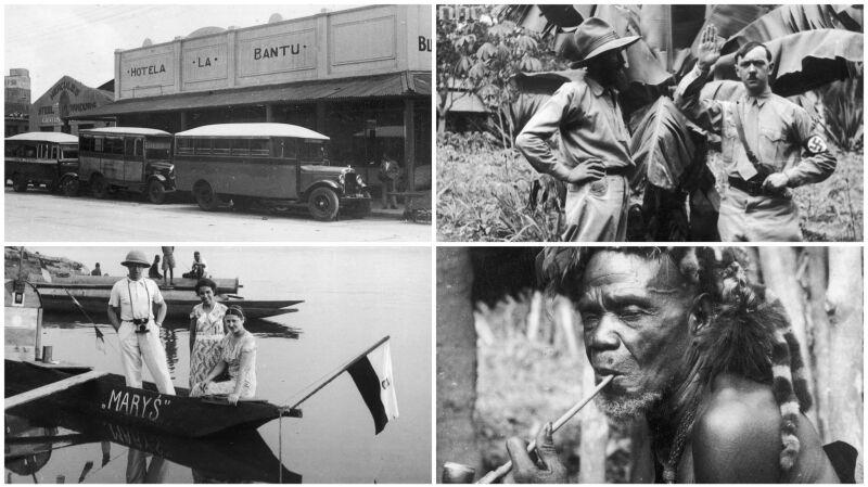 40 tys. km przez Afrykę. Niezwykłe zdjęcia Kazimierza Nowaka z lat 30.
