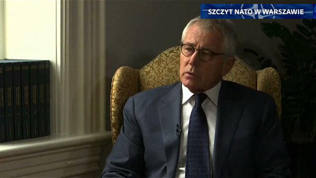 Hagel: Nie wiemy, kto pojawi się po Putinie. Może ktoś jeszcze bardziej niebezpieczny