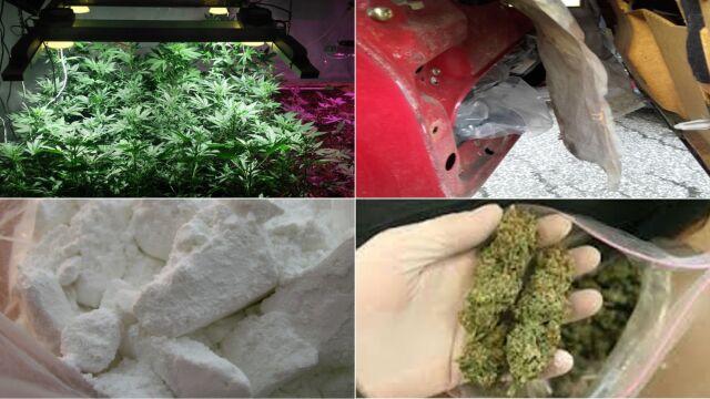 """""""Kradli samochody, produkowali narkotyki"""". 51 oskarżonych, 200 zarzutów"""
