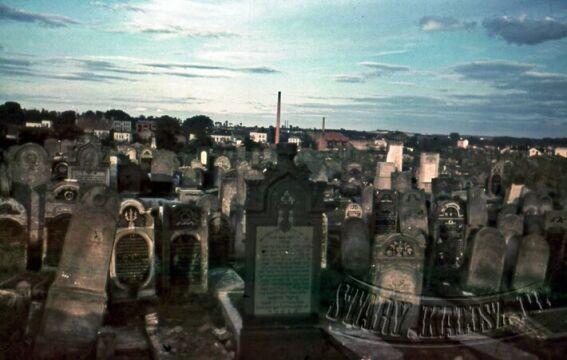 Nieistniejący już cmentarz żydowski (ob. ul. Nowy Świat)