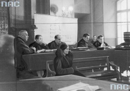 Oskarżona Rita Gorgonowa podczas składania zeznań
