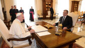 Prezydent Komorowski spotkał się  z papieżem Franciszkiem