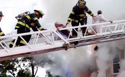 Brawurowa akcja strażaków z Brockton w stanie Massachusetts