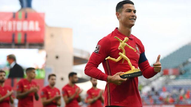 """Ronaldo pochwalił się certyfikatem. """"Rekordzista świata"""""""