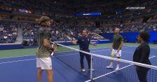 Skrót meczu Tsitsipas – Mannarino w 2. rundzie US Open