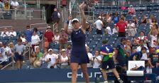Świątek pokonała Loeb w 1. rundzie US Open