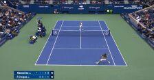 Świetny lob Tsitsipasa w starciu z Mannarino w 2. rundzie US Open