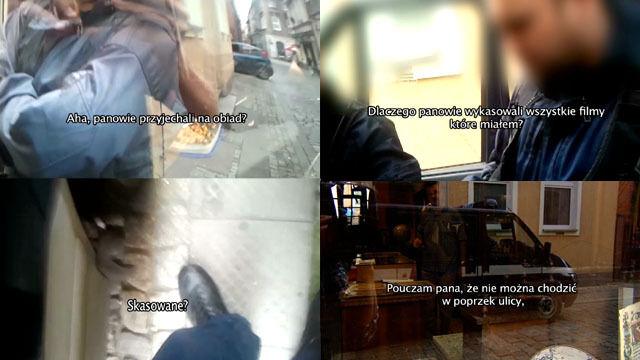Brutalna interwencja policji wobec reportera TTV. Prokuratura umarza sprawę