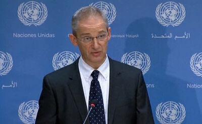 ONZ: Użycie broni chemicznej jest niedopuszczalne