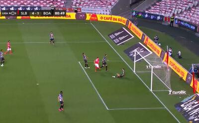 Skrót meczu Benfica - Boavista w 30. kolejce ligi portugalskiej