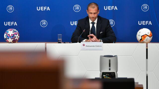 Wróciły restrykcje, UEFA spokojna o Ligę Mistrzów