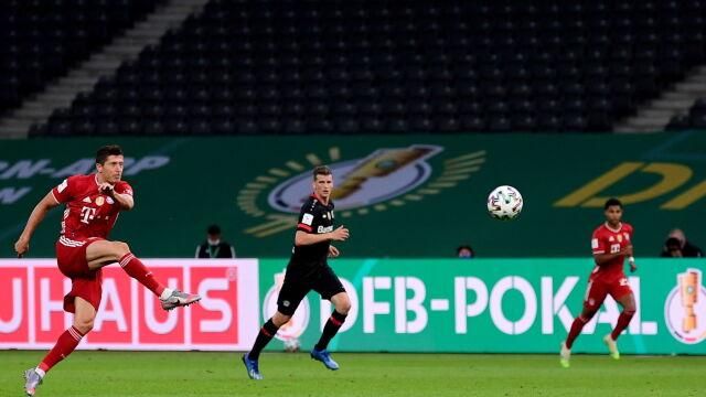 """""""Pomyślałem: 'spróbuj'. Byłem zaskoczony"""". Lewandowski o niecodziennym golu"""