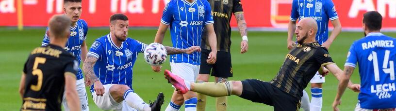 Pierwsza piłka meczowa zmarnowana. Legia przegrała w Poznaniu i na mistrzostwo musi poczekać