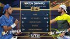 Berrettini pokonał Popyrina w Ultimate Tennis Showdown