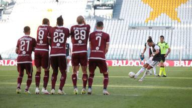 Derby Turynu dla Juventusu. Mecz rekordów, gol Ronaldo z wolnego