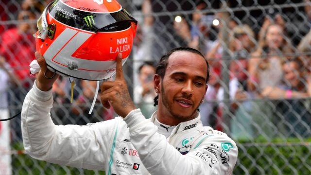 """Hamilton wygrał dla Laudy. """"Duch Nikiego walczył u mego boku"""""""