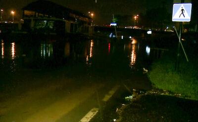Alarm przeciwpowodziowy w Krakowie