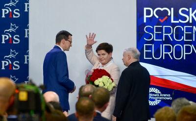 Ministrowie Prawa i Sprawiedliwości idą do Parlamentu Europejskiego