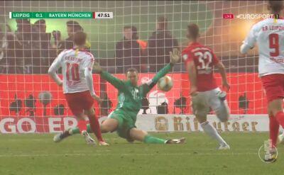 Finał Pucharu Niemiec: kapitalna parada Manuela Neuera