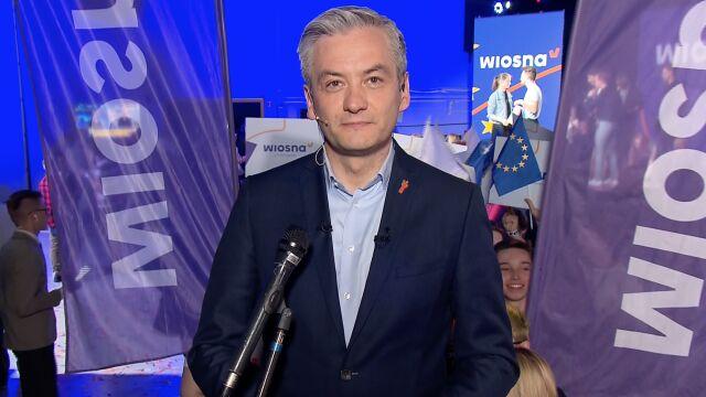 """Robert Biedroń w specjalnym wydaniu """"Faktów po Faktach"""""""