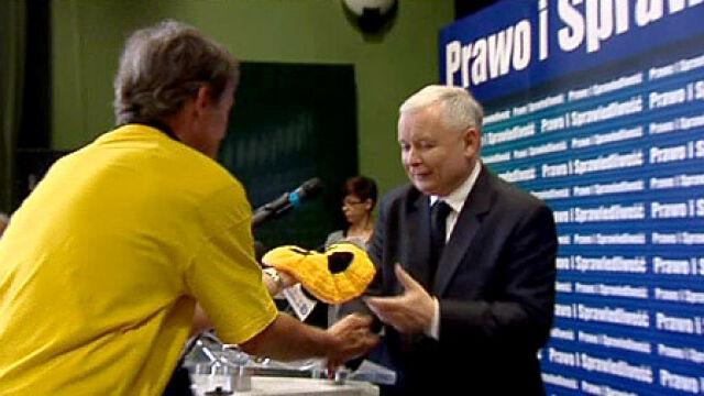 Moherowy beret dla prezesa PiS