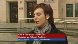 Funkcjonariusze CBA są w ministerstwie jednak szczegóły postępowania nie są mi znane - mówi rzecznika Ministerstwa Finansów, Magdalena Kobos