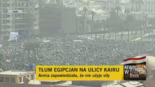 Relacja specjalnego wysłannika Faktów TVN z placu Tahrir