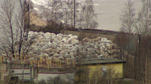 Rakotwórcze odpady 100 m od Bałtyku