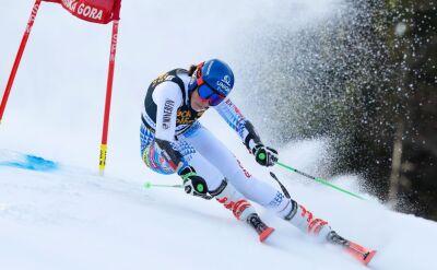 Vlhova liderką po pierwszym przejeździe slalomu giganta w Kranjskiej Gorze