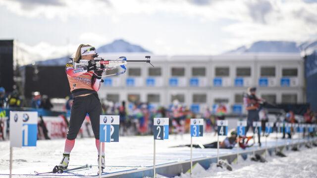 Sztafeta mieszana z Polakami. W mekce biathlonu początek walki o medale