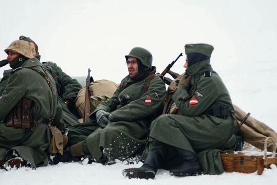 Przedstawili walki z 1945 roku