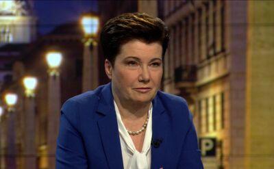 Gronkiewicz-Waltz: Ziobro wprowadził Szydło w błąd