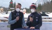Meldunek o warunkach atmosferycznych podczas konkursu drużynowego w Planicy