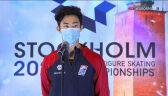 Chen po triumfie w rywalizacji solistów w mistrzostwach świata