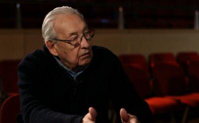 Archiwalny wywiad z Andrzejem Wajdą