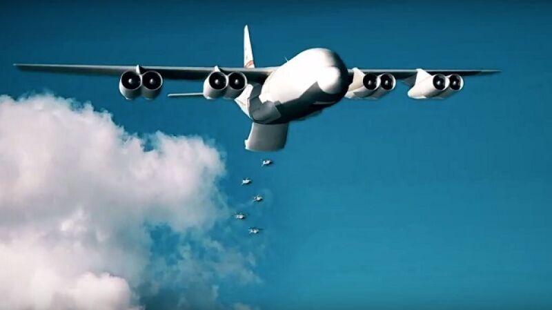 Koncepcja amerykańskiego samolotu-arsenału