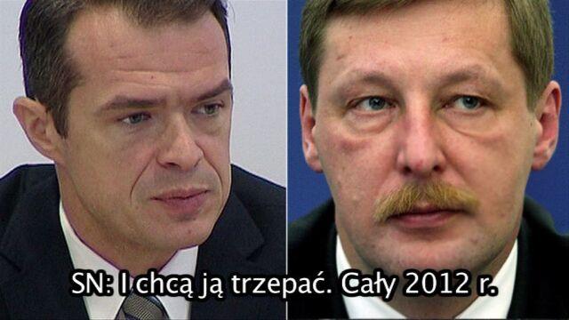 Fragment rozmowy Sławomira Nowaka z Andrzejem Parafianowiczem