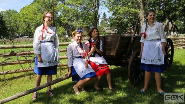 Dziewczyny z grupy Kaszubianka