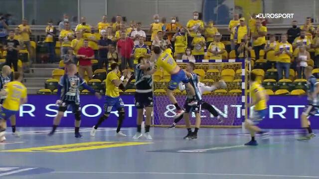 Skrót meczu Łomża VIVE Kielce - MOL-Pick Szeged w 2. kolejce Ligi Mistrzów