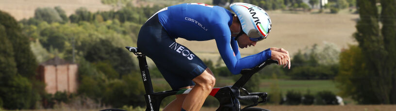 Włoski kolarz pokazał moc. Obrońca tytułu opadł z sił