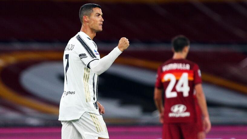 Dwa karne i czerwona kartka. Ronaldo uratował Juventus w Rzymie