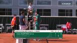 Skrót meczu Martinez - Masur w 1. rundzie kwalifikacji do Roland Garros