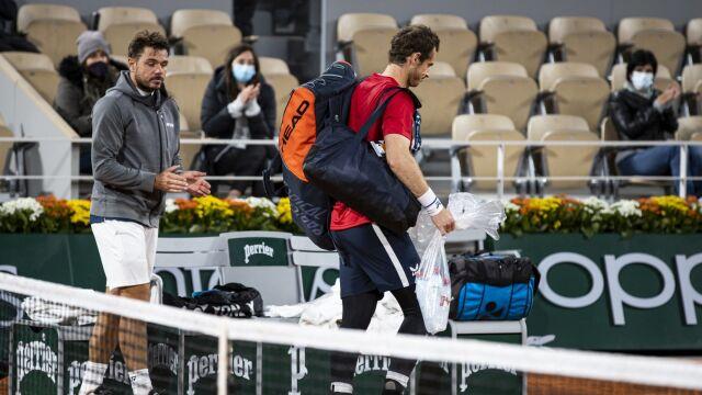 Jednostronny mecz wielkich zawodników. Murray rozczarował w Paryżu