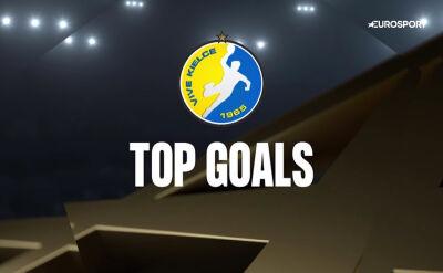 Najlepsze gole z meczu Łomża VIVE Kielce - MOL-Pick Szeged