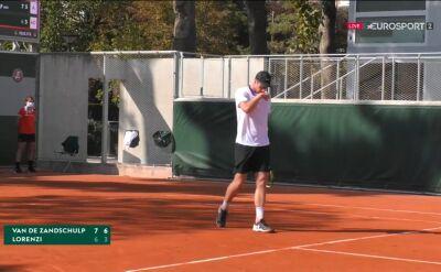 Lorenzi odpadł w 1. rundzie kwalifikacji do Roland Garros