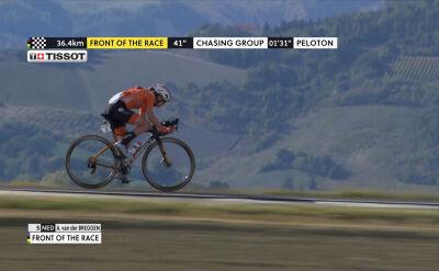 Van der Breggen na trasie mistrzostw świata