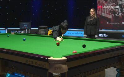 Setka Akaniego w pierwszej rundzie European Masters