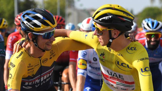 Media: Giro d'Italia odwiedzi ojczyznę Roglica i Pogacara