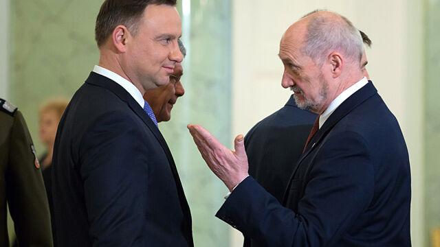 Prezydent pisze do Antoniego Macierewicza. Jest odpowiedź MON